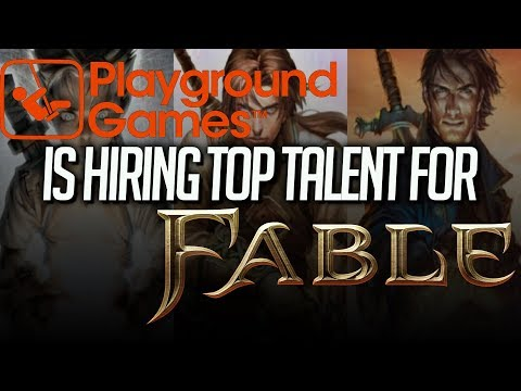 Playground Games is Hiring Top Tier Industry Talent for Fable 4