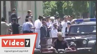 بالفيديو .. مدير أمن القاهرة يتفقد ميدان التحرير