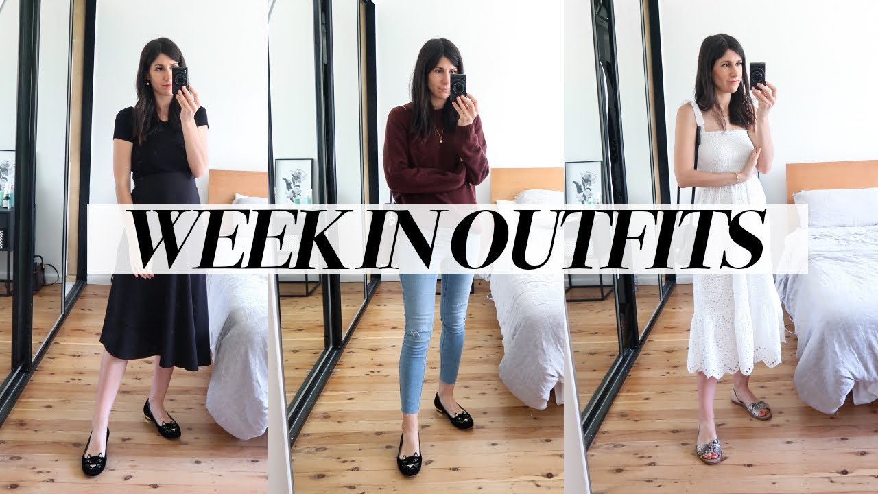 [VIDEO] - A WEEK IN OUTFITS: Relaxed/Minimal Maternity Style (Spring Outfits of the Week)   Mademoiselle 2