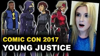 Young Justice Season 3 Comic Con - Beyond The Trailer