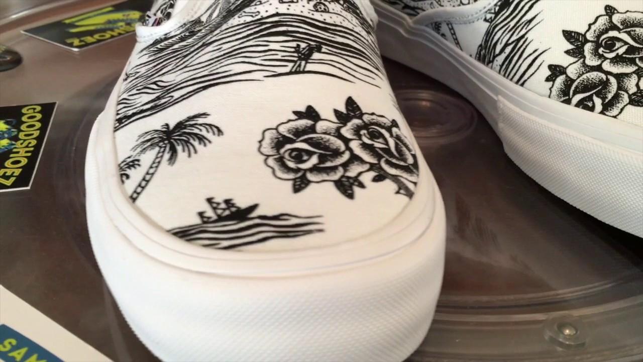 29907eaeaa Vans x Sketchy Tank Slipon Pro - Black   White - 2.20.2017 - YouTube