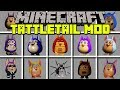 Minecraft TATTLETAIL MOD | SURVIVE AGAINST SCARY MONSTERS! | Modded Mini-Game (Educational Video)