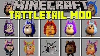 Minecraft TATTLETAIL MOD   SURVIVE AGAINST SCARY MONSTERS!   Modded Mini-Game (Educational Video)