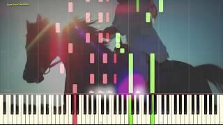 "Мелодия из к/ф ""Цыган"" (Ноты и Видеоурок для фортепиано) (piano cover)"