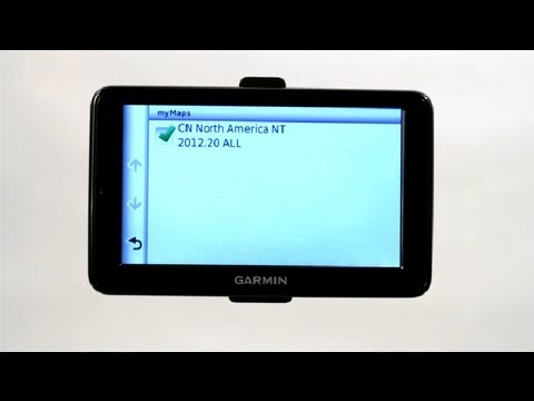 How To Delete Maps From Garmin GPS GPS Help YouTube - Garmin nuvi map update us region