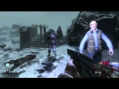 call of duty - call of the dead hidden song (avenged sevenfold - im not ready to die)