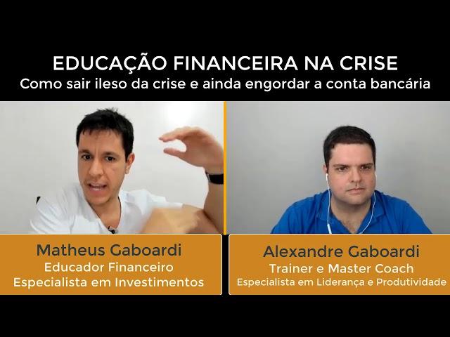 Educação Financeira na Crise