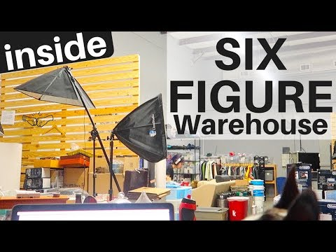 Inside a 6 FIGURE eBay / Amazon Reseller Warehouse | Redesigning EVERYTHING! | Ralli Roots