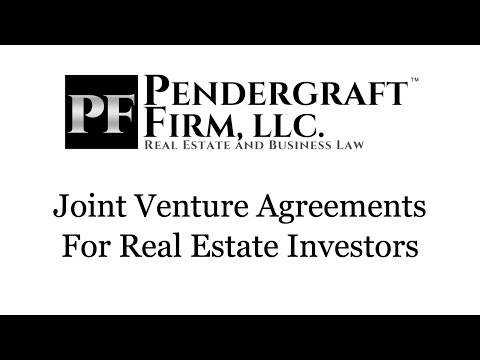 Joint Venture Agreements For Real Estate Investors - Co-Wholesaling and Using Cash Partners