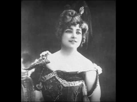 French Soprano Juliette Simon-Girard: La Femme de Narcisse (1903)