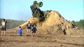 10 Extreme Truck Jumps - compilation , Funny Jumps, jumps ,back flips and fails