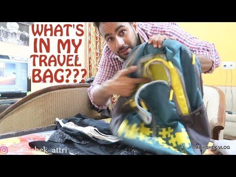 My Travel Bag Essentials! | Things I Carry On Trek adventure | New Delhi
