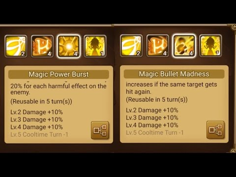 Summoners War : [009] - Wind Homunculus Damage Test