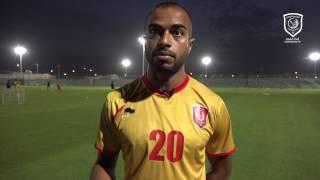 قناة لخويا | علي عفيف: متحمسون لمواجهة الجيش