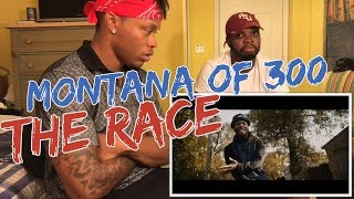 Montana Of 300 - The Race [REMIX] Shot By @AZaeProduction - REACTION