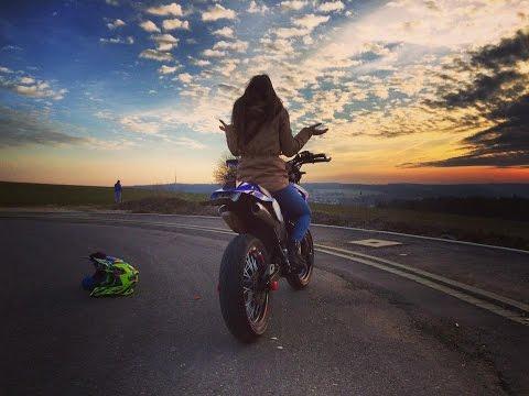 Stunt and Fun ! Ktm exc 125 / Yamaha dt 125 x / Warm up / Supermoto