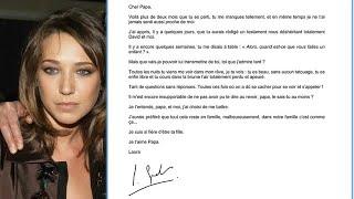 La déchirante lettre de Laura Smet à son père Johnny Hallyday