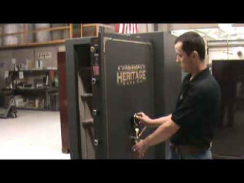 Heritage Safe Company - Changing S&G Lock Combination