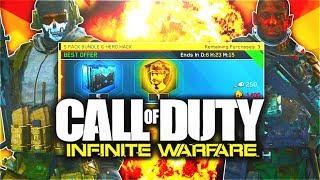 NEW HERO HACK in Infinite Warfare! (WORTH IT?!) - 5 PACK RARE SUPPLY DROP BUNDLE + ULTRA RARE EPICS!