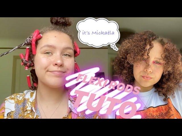 @Camille Ricordel: TUTO Flexi Rods sur cheveux naturels / Flexi rods set tutorial
