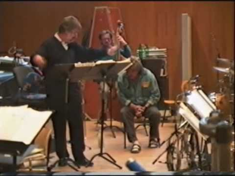 Mark Murphy rehearsal (part 1/4) with the RIAS Big Band Berlin, March 12th, 1997