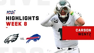 Carson Wentz Highlights vs. Bills | NFL 2019