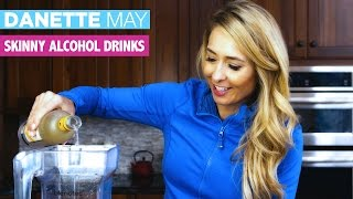How To Make A Healthier Alcoholic Drink 🍸🍹   Danette May
