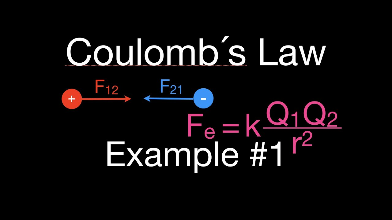 Coulomb S Law 2 Of 7 Calculate The Force Between Two Charges