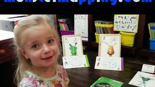 Kensi Explores Spelling Patterns with a Dandelion Reader - Code & Monster Mapping - Learn to Spell !