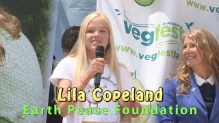 Lila Copeland - Animal Hero Kids Paul McCartney Young Veg Advocate Winner