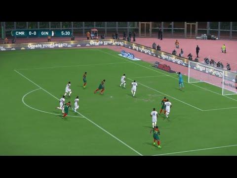 [HD] Cameroun Vs Guinée   Match Amical FIFA   28 Mars 2017   PES 2017