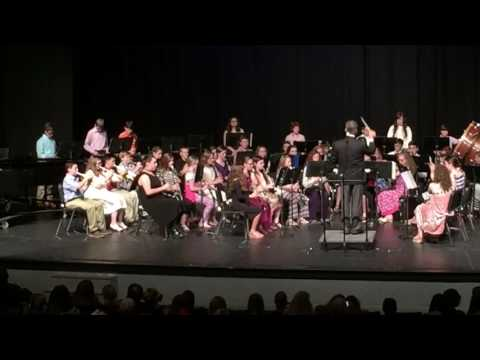 "Arab Junior High School 6th Grade Beginner Band - 2017 Spring Concert - ""Theme From Jurassic Park"""