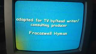"Little Bill: Me And My Family VHS (4/4) ""Closing Credits"""