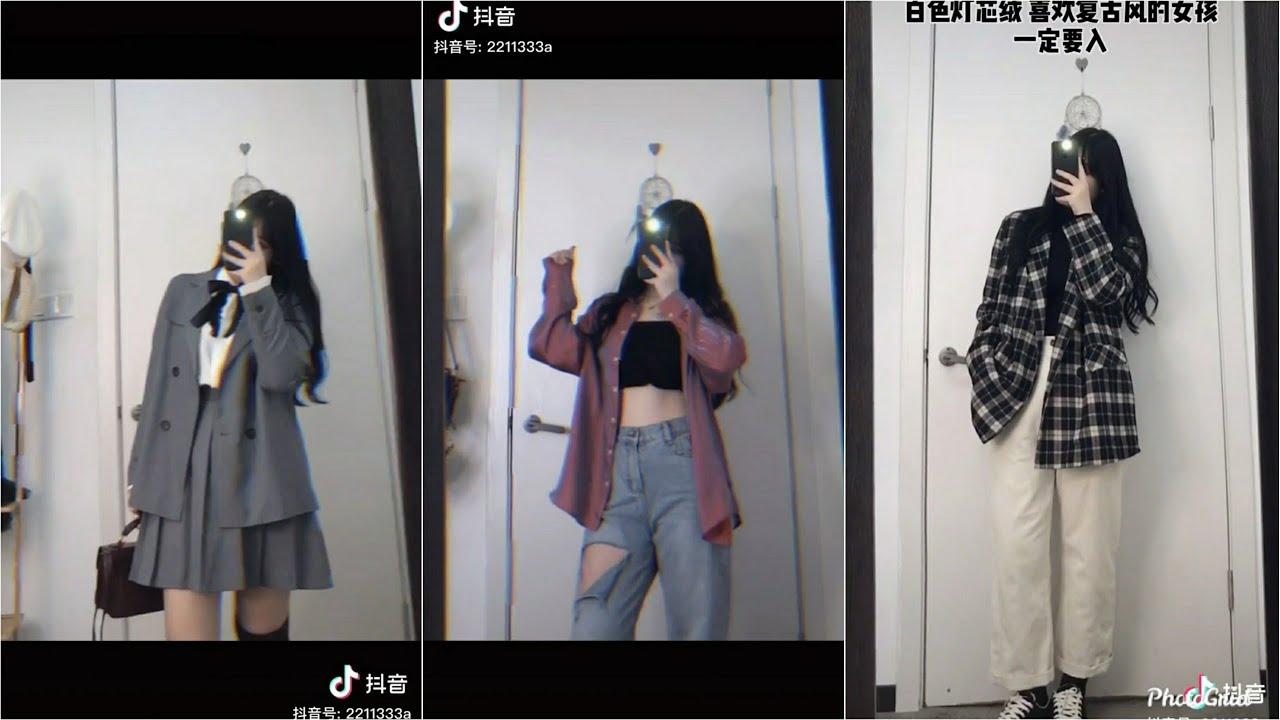 【抖音】TikTok Trung Quốc ❤️ Nàng béo nên mặc đồ gì? Cách mix đồ cho nàng béo #150 | TikTok Official9x