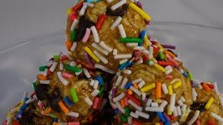 Peanut Butter Snack Bites With Sprinkles - With Yoyomax12