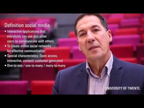 International Business Administration - Online marketing for companies - UTwente