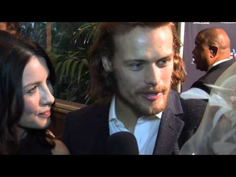 OUTLANDER  Sam Heughan Caitriona Balfe  The