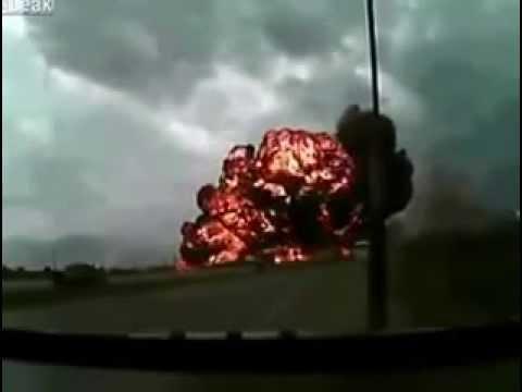 Разбился самолет Видео падения самолета