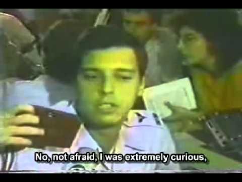 Jets chase UFO's over Brazil 1986