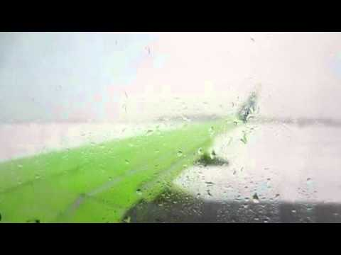 Airplane Deicing -West Jet -Calgary, Canada, April 26, 2014. How and why?