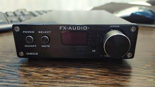 fX-AUDIO D802 или полное цифровое усиление