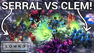 StarCraft 2: SERRAL vs CLEM! (Best-of-5)
