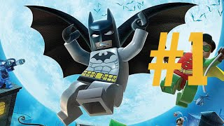 Lego Batman The VideoGame Episode 1: The Riddler's Revenge Level 1|You Can Bank On Batman