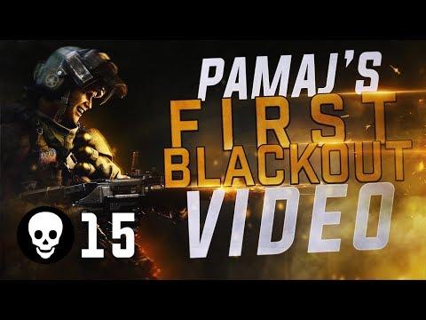 Pamaj - First BO4 Blackout GAMEPLAY! (COD Battle Royale)