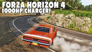 FORZA HORIZON 4 DODGE CHARGER 1000HP NA DRIFT :D