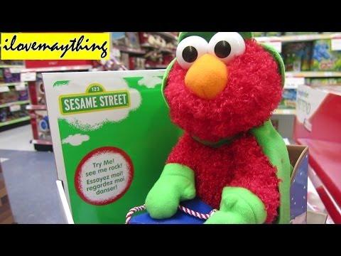 Sesame Street - ELMO Singing a Christmas Song :-)