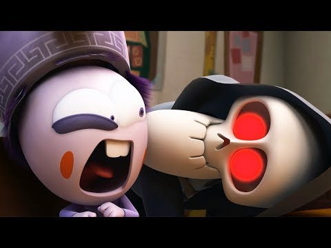 Funny Animated Cartoon | Spookiz | Kong Kong Caught In The Act |  스푸키즈 | Cartoon For Children