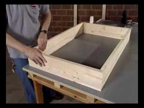 Simor instalaci n de fixo marco de ventana youtube - Hacer una ventana de madera ...