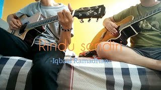 Rindu Sendiri - Iqbaal Ramadhan (Cover by James w/ Ahmad Ikhsan)