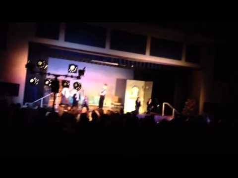 Jordan Braun as Maurice in Wenonah School's Beauty and the